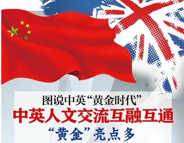 """图说中英""""黄金时代"""":中英人文交流互融互通"""